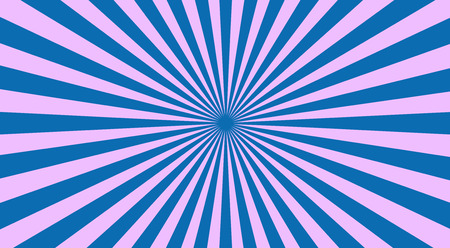 sunbeams background: Abstract sunbeams background - vector illustration. Illustration shiny sunbeams. Bright sunbeams on blue background. Abstract bright background - vector.