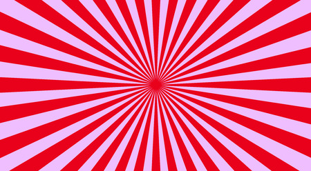 sunbeams background: Abstract sunbeams background - vector illustration. Illustration shiny sunbeams. Bright sunbeams on red background. Abstract bright background - vector.