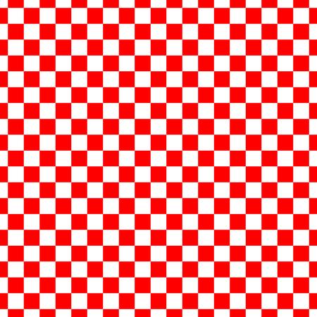 Schach nahtloser Hintergrund. Geometrischer abstrakter Hintergrund. Vektor-Illustration. Nahtloses Muster