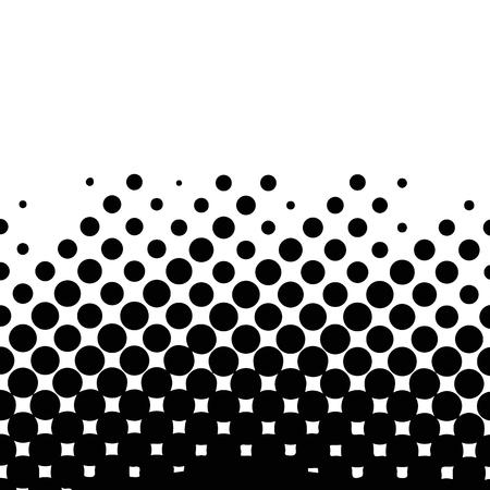 Pop Art background. Retro dotted background. Vector illustration. Halftone monochrome pop art pattern.