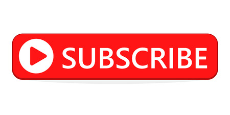 Subscribe button. Vector illustration. Subscribe icon, isolated Vettoriali