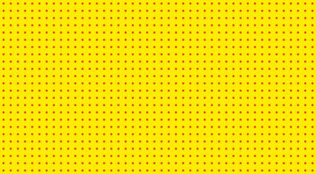 Pop Art background. Retro dotted background. Vector illustration. Halftone yellow pop art pattern. Ilustrace