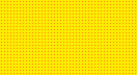 Pop Art background. Retro dotted background. Vector illustration. Halftone yellow pop art pattern. Illustration