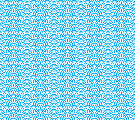 Abstract blue seamless background. Vector illustration. Simple pattern