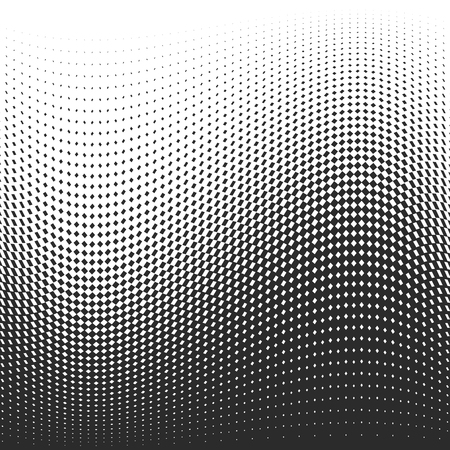 Black dots on white background. Vector illustration. Abstract background with halftone dots effect. 向量圖像