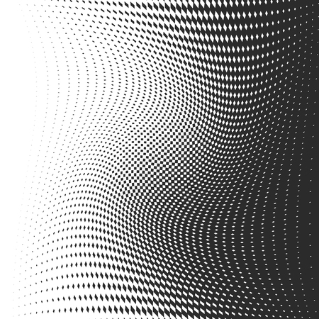 Black dots on white background. Vector illustration. Abstract background with halftone dots effect. Иллюстрация