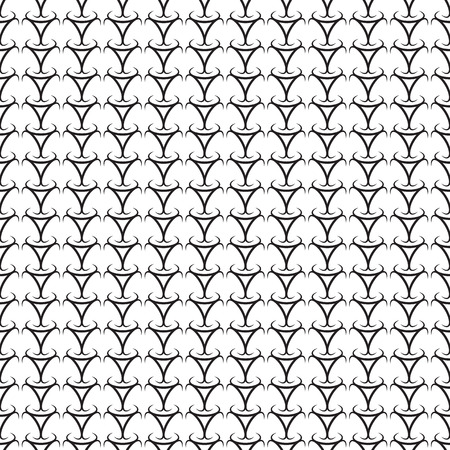 Abstract black seamless background. Vector illustration. Simple pattern