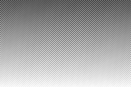 Abstract linear pattern. Vector illustration. Background with diagonal black lines Vector Illustratie