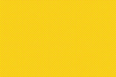 Fond de Pop Art. Fond pointillé rétro. Illustration vectorielle. Motif pop art jaune demi-teinte. Vecteurs