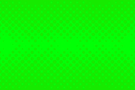 Green Halftone background. Vector pop art background. Color dotted background.