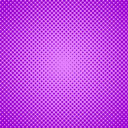 Vector halftone effect background. Purple dotted background. Retro pop art background. Vector grunge halftone dot texture background.