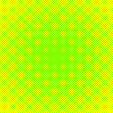 Vector halftone effect background. Green dotted background. Vector grunge halftone dot texture background. Retro pop art background