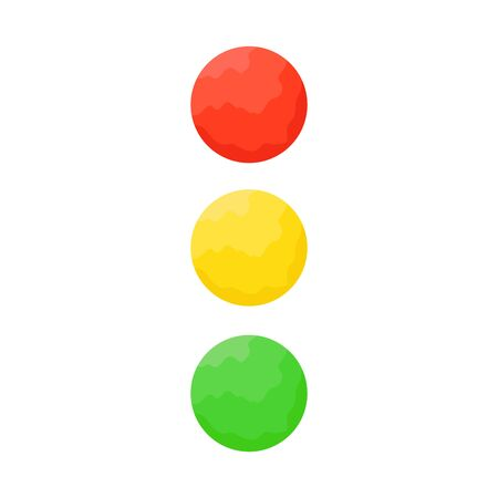 Traffic light icon - vector. Traffic light icon isolated. Traffic light icon in flat style. Vector traffic light Banque d'images - 133121851