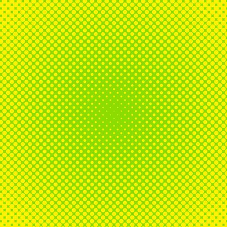 Vector halftone effect background. Green dotted background. Retro pop art background. Vector grunge halftone dot texture background.