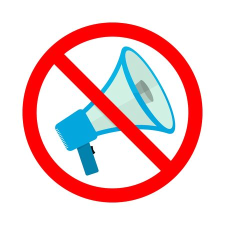 Vector symbol of rally or protest. No megaphone icon. No noise concept. Loudspeaker icon.