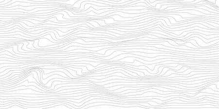 Abstract linear background. Vector illustration. Thin line wavy background.
