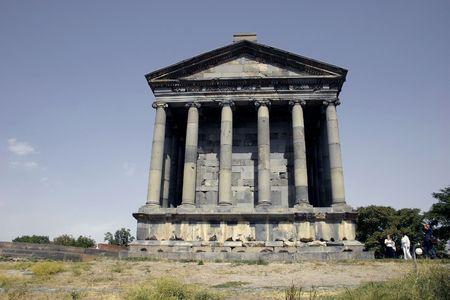 Armenia. The Greek-Roman architecture. 1-2 century. Stock Photo - 332981