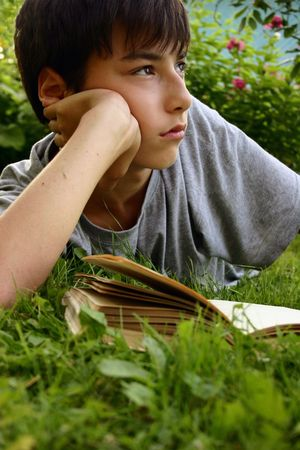 Teen z książki