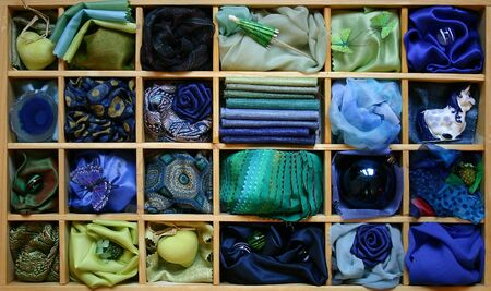 dark pastel green: Blue box