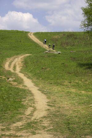 Bicycle road. Stock Photo - 417008