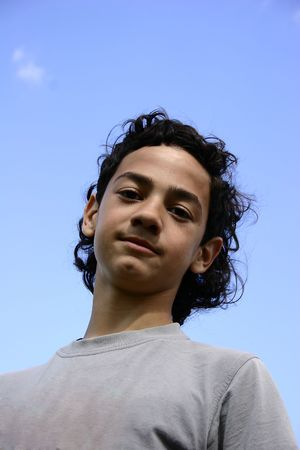 gaiety: Teen portrait.