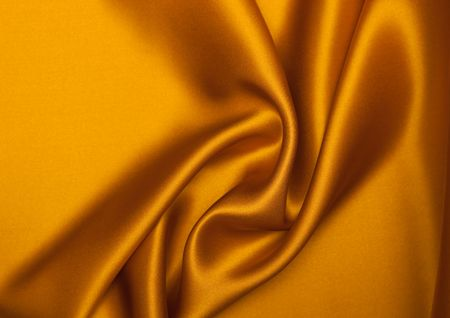 Smooth elegant orange silk can use as background. Stock Photo - 5998910