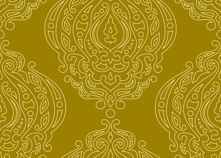 Vector seamless background with pattern.