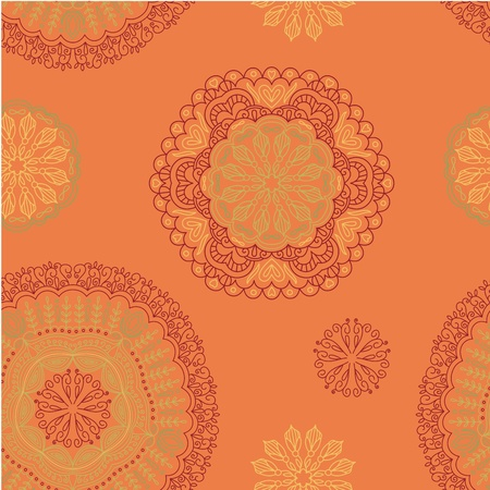 seamless background with pattern. Stock Vector - 13196950