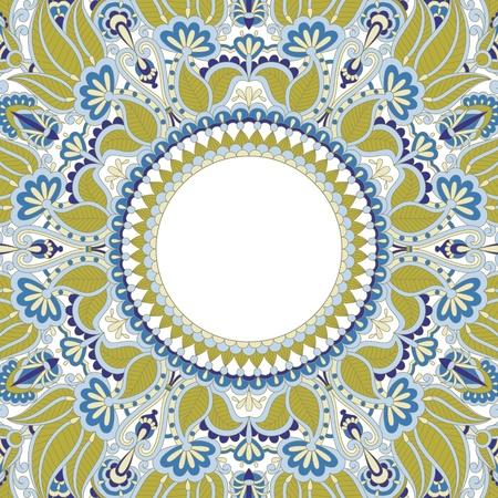 for print: illustration with vintage pattern for print. Illustration