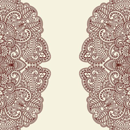 어두워: 프린트 빈티지 패턴 그림.