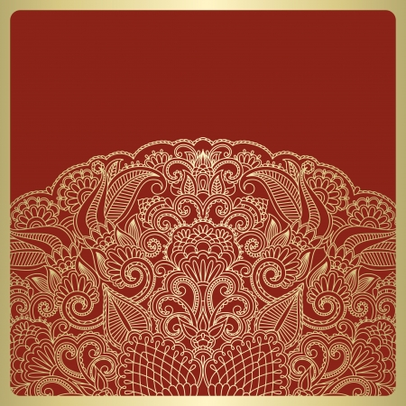 briliance:  greeting card with floral pattern.