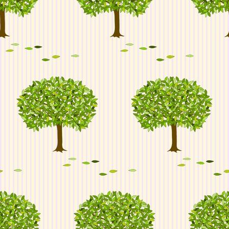 iteration: illustrazione sfondo senza soluzione di continuit� con gli alberi.