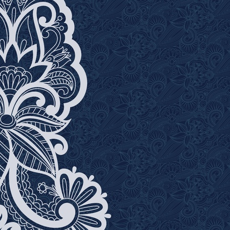 greeting card backgrounds: illustration with vintage pattern for print. Illustration