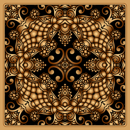 Vector vintage pattern for print, embroidery Stock Vector - 22971222