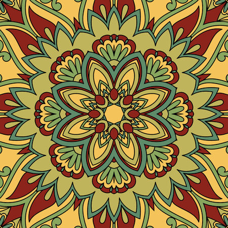 vintage pattern for print, embroidery Vector
