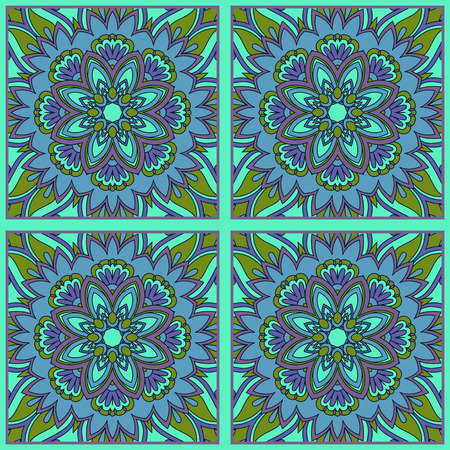 vintage seamless pattern for print, embroidery Vector
