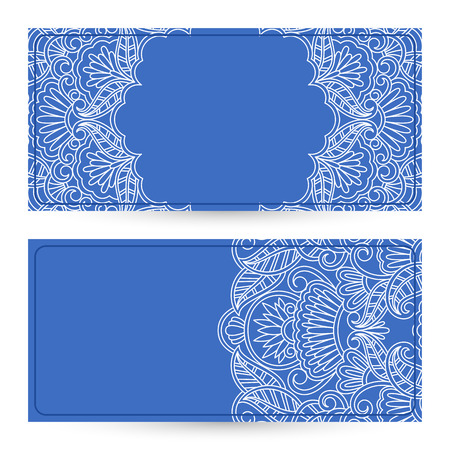 Vector templates floral pattern graphic designs. Birthday or invitation card. Vector