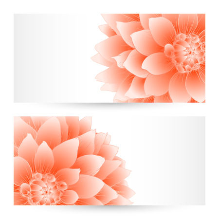 Vector templates flowers graphic designs. Birthday or invitation card. Vector