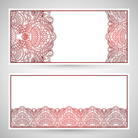 templates floral pattern graphic designs. Birthday or invitation card. Vector