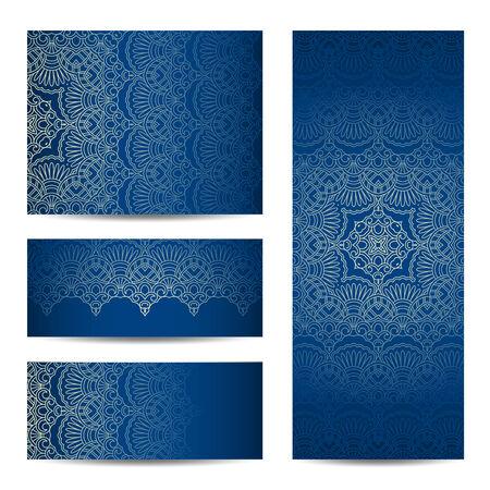 bodas de plata: plantillas diseños gráficos estampado de flores. Cumpleaños o tarjeta de invitación. Vectores