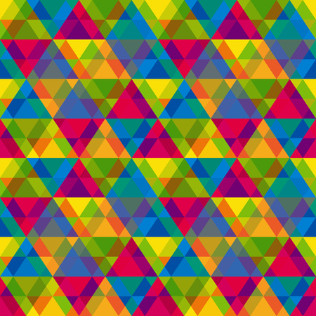 parallelepiped: Vector seamless background with vintage geometric pattern