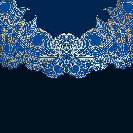 vignettes: Vector floral decorative background, template frame design for card, brochure, book, business card, postcard, wedding invitation, banner.