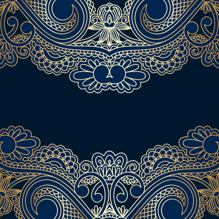 decorative lines: Vector floral decorative background, template frame design for card, brochure, book, business card, postcard, wedding invitation, banner.