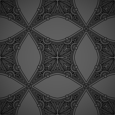 filigree background: Vector seamless background with vintage filigree pattern for design, print, embroidery.