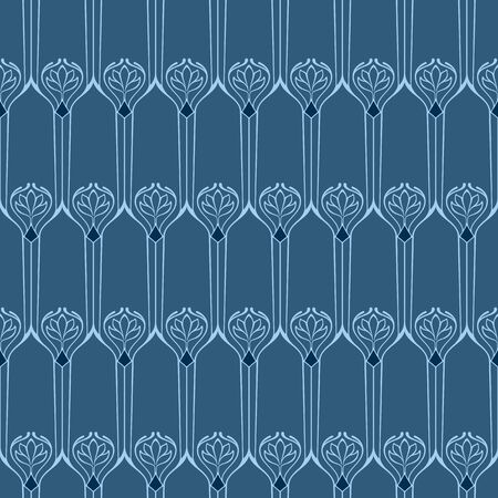 art deco: Vector seamless background with vintage art deco pattern for design, print, embroidery.