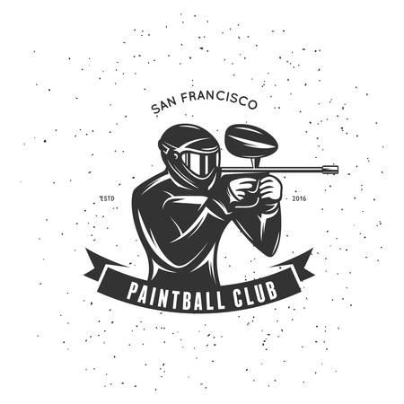paintball: Paintball club emblem