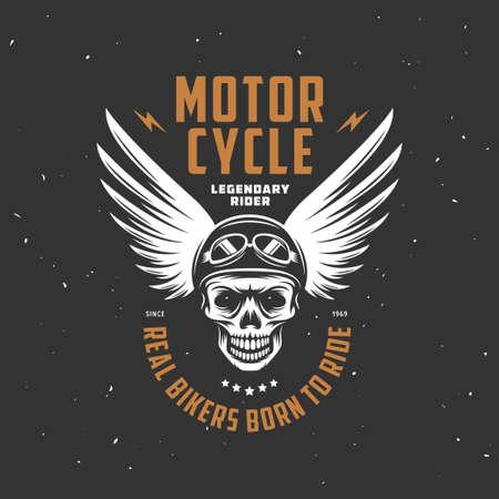 moda ropa: Motocicleta de la vendimia gráficos de la camiseta. Ilustración del vector.