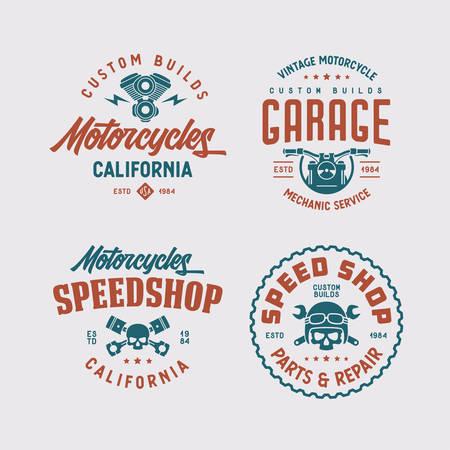Motorcycles California t-shirt design.