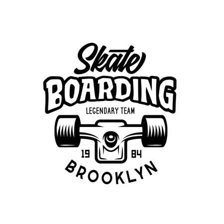 Skateboarding t-shirt design. Ilustrace