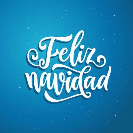 Happy New Year in Spanish language.